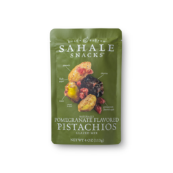Naturally Pomegranate Flavored Pistachios  Package