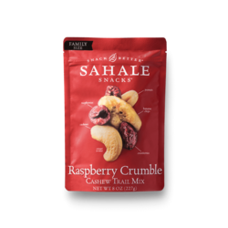 Raspberry Crumble Cashew Package