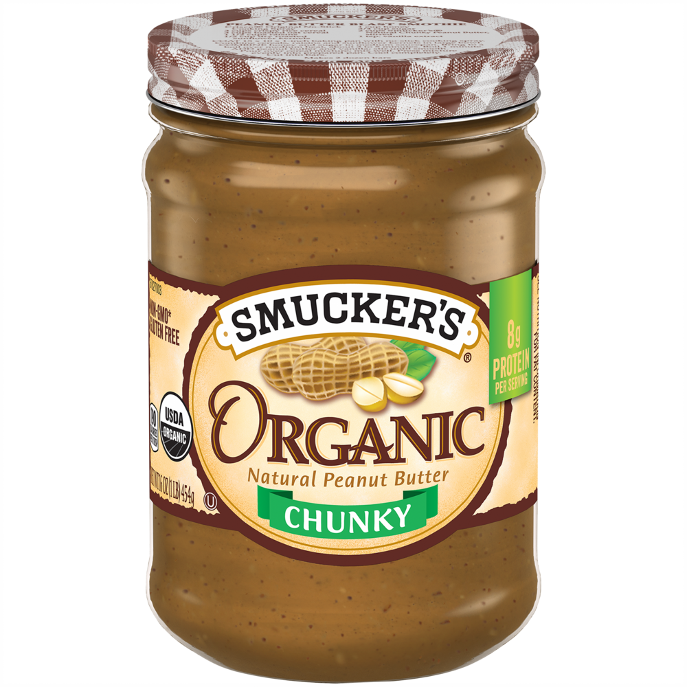Organic Chunky Peanut Butter