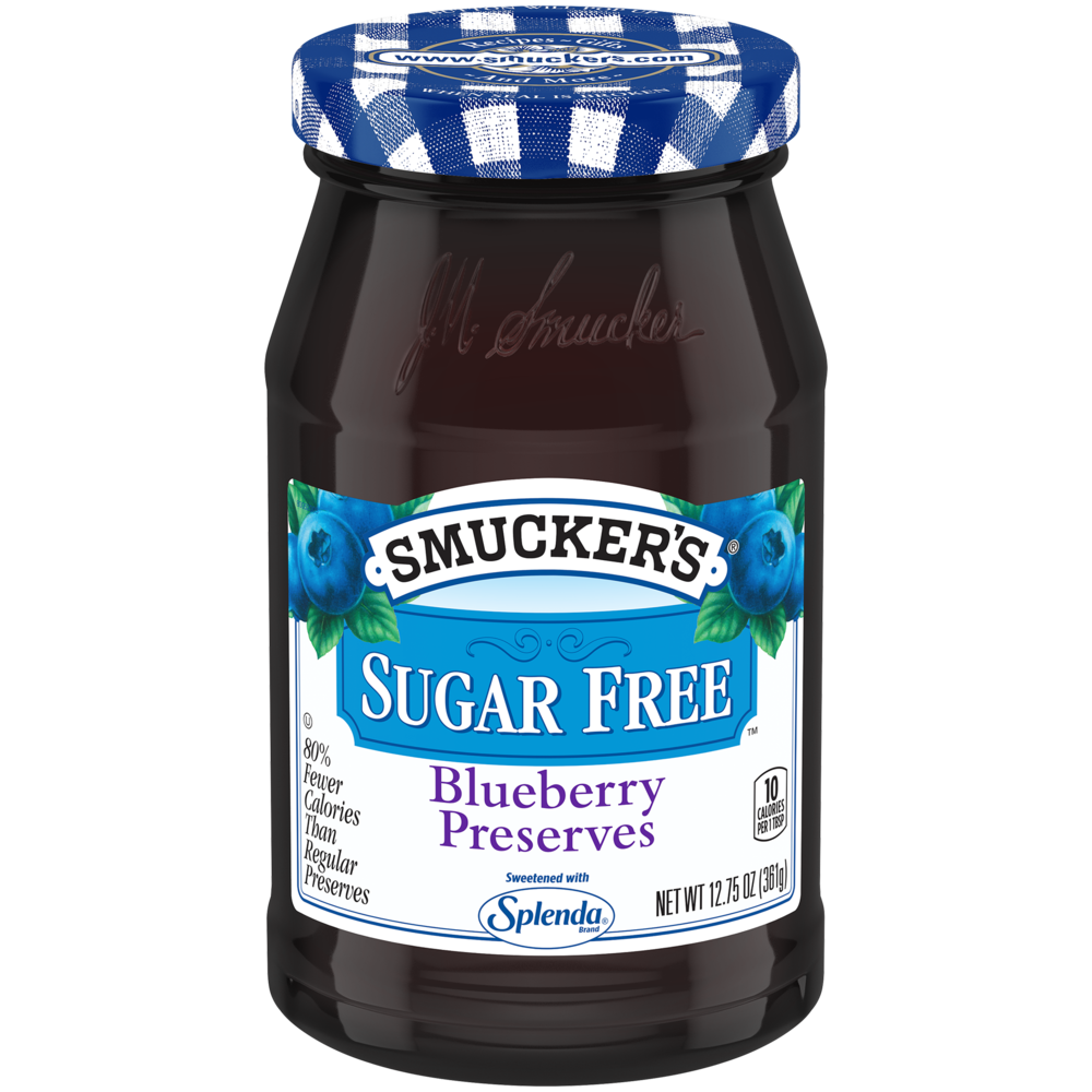 Sugar Free Blueberry Preserves with Splenda