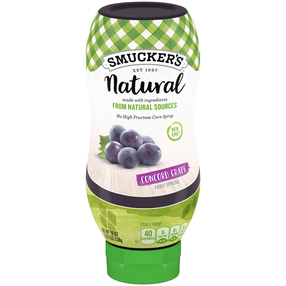 Natural Concord Grape Squeeze