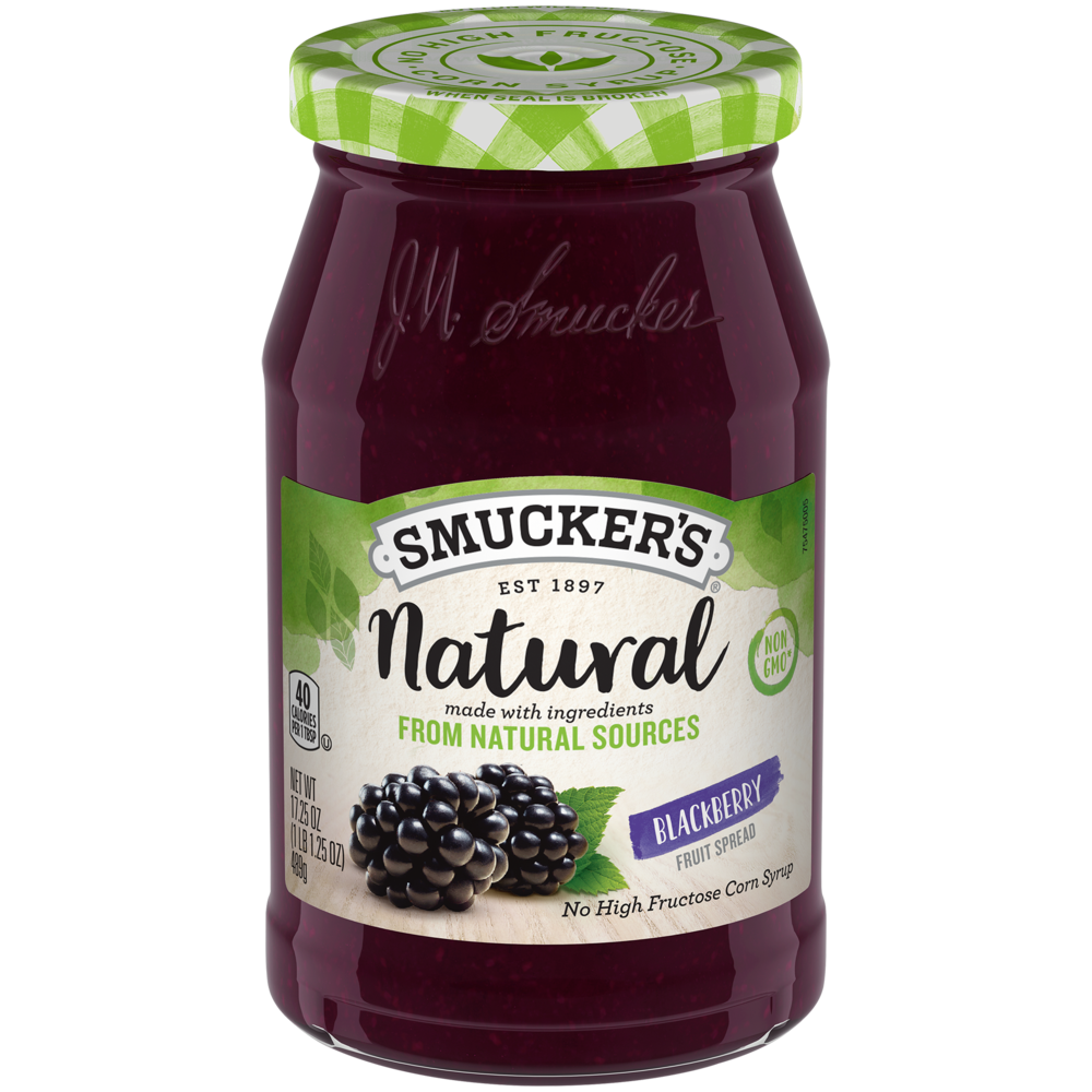 Natural Blackberry Fruit Spread