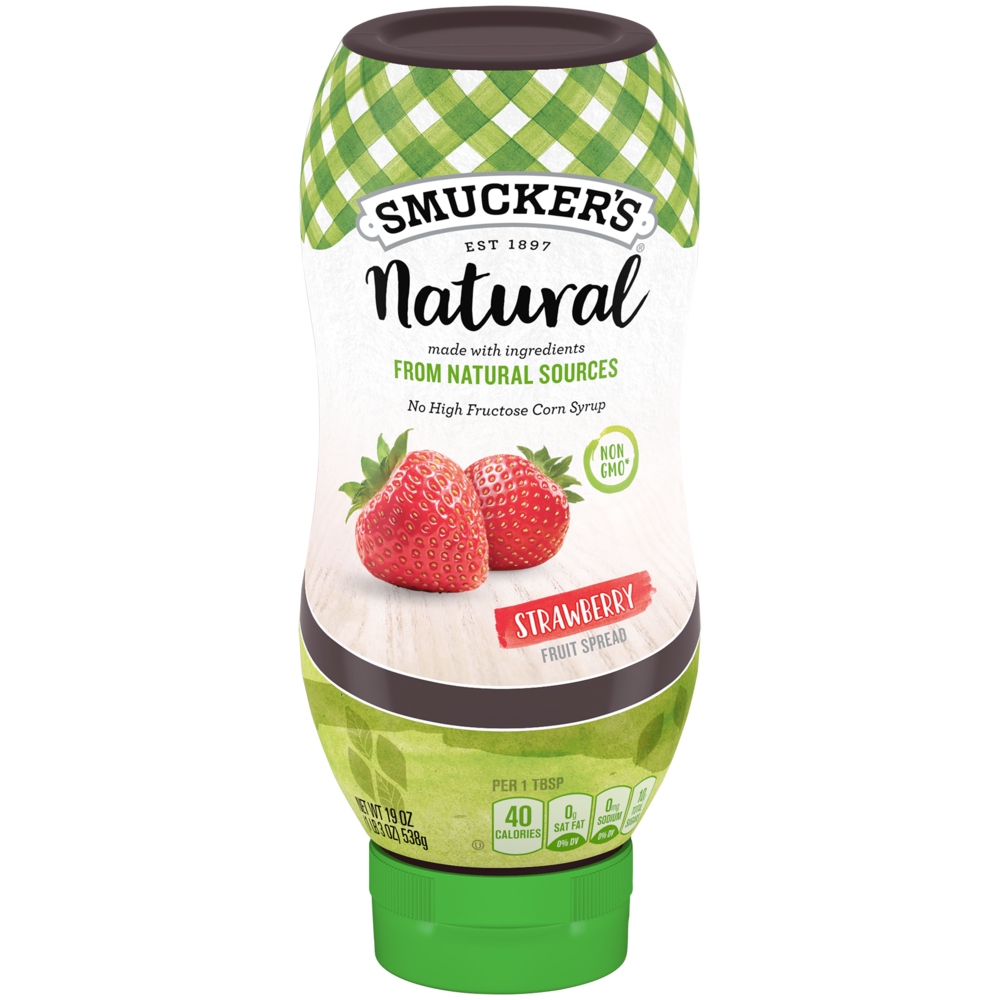 Natural Strawberry Squeeze Fruit Spread