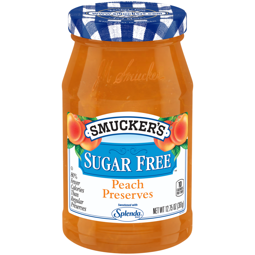 Sugar Free Peach Preserves with Splenda