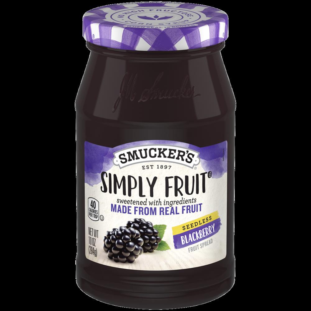 Simply Fruit® Seedless Blackberry Spreadable Fruit
