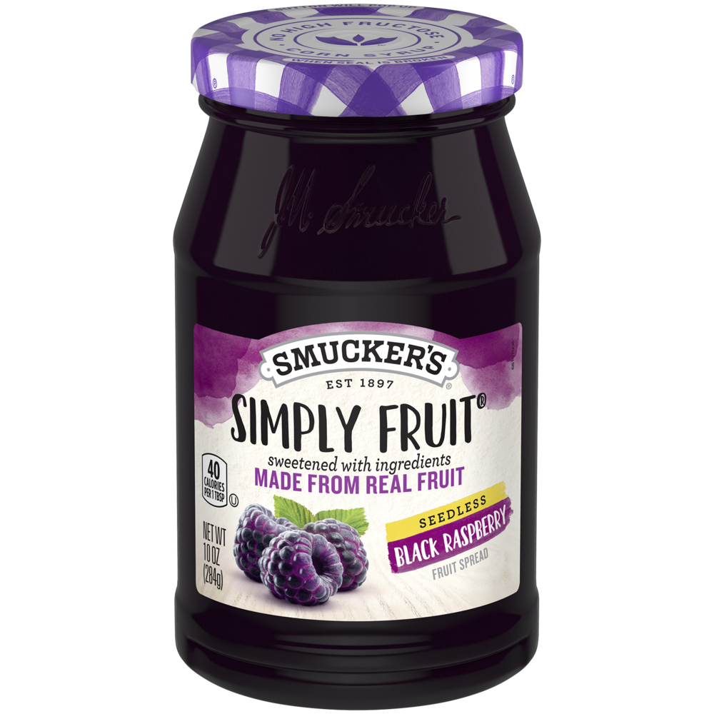 Simply Fruit® Seedless Black Raspberry Spreadable Fruit