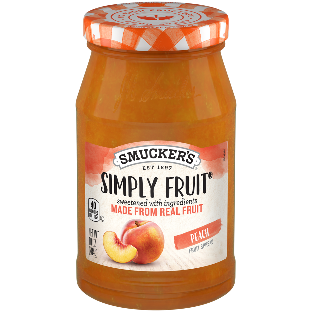 Simply Fruit® Peach Spreadable Fruit