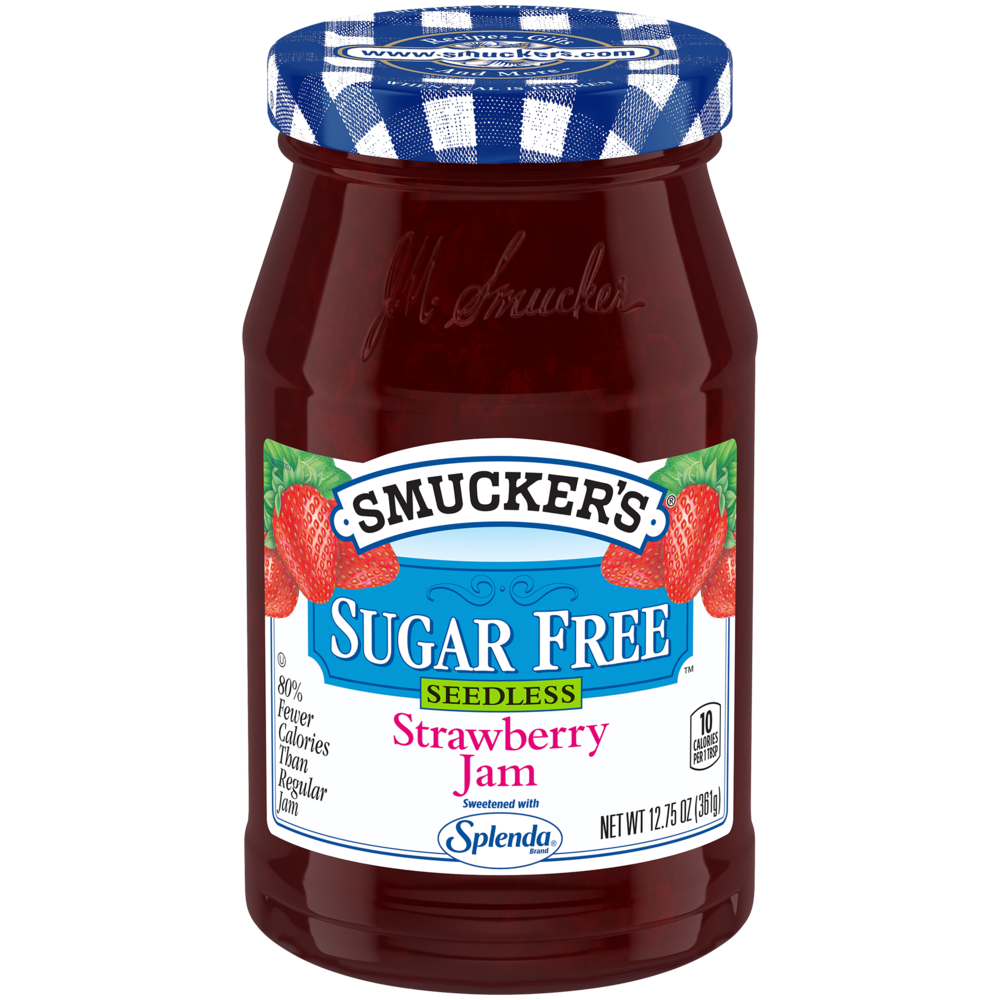 Sugar Free Seedless Strawberry Jam with Splenda