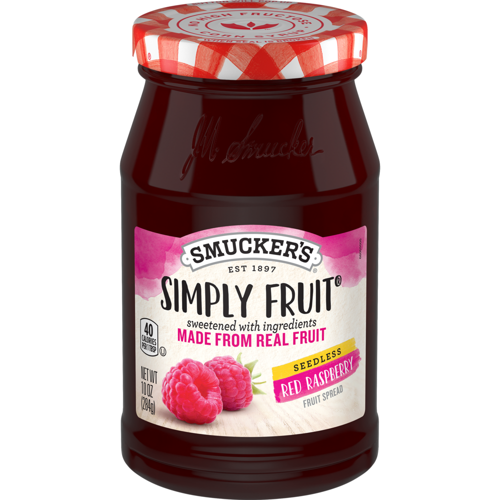 Simply Fruit® Seedless Red Raspberry Spreadable Fruit