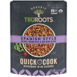 Quick Cook Spanish Style Quinoa, Brown Rice, & Red Bean Blend