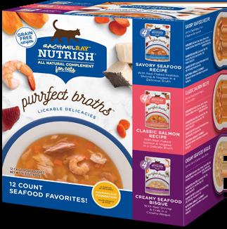 <p>Purrfect Broth Seafood Favorites Variety Pack</p> bag