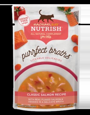 <p>Classic Salmon Purrfect Broths</p>
