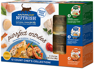 <p>Purrfect Entrees Chef's Collection Variety Pack</p> bag