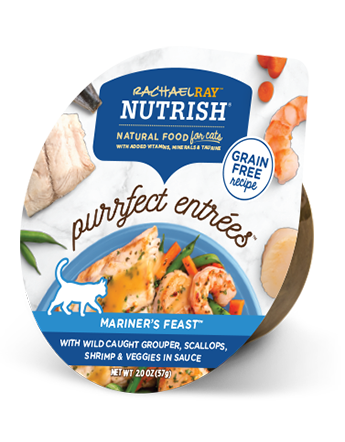 <p>Purrfect Entrees Mariner's Feast</p>