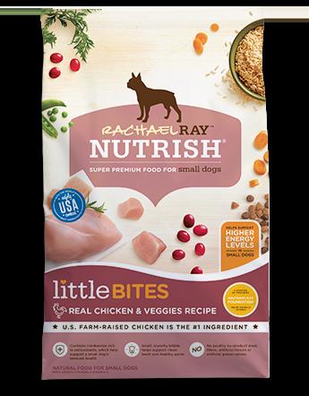 Little Bites Real Chicken & Veggies Recipe bag