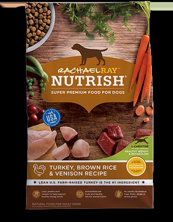 Turkey, Brown Rice & Venison Recipe bag