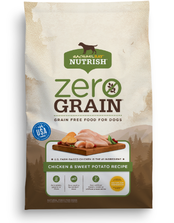 Zero Grain Chicken & Sweet Potato Recipe bag