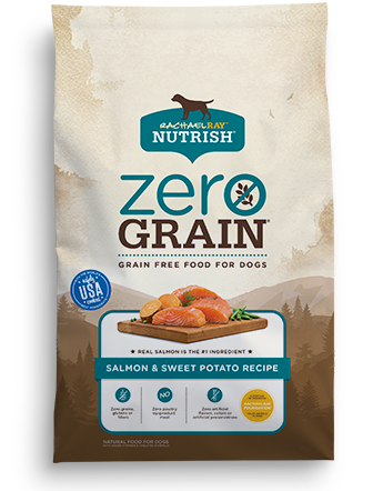Zero Grain Salmon, Sweet Potato & Pea Recipe bag