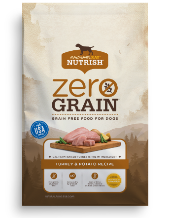 Zero Grain Turkey & Potato Recipe bag