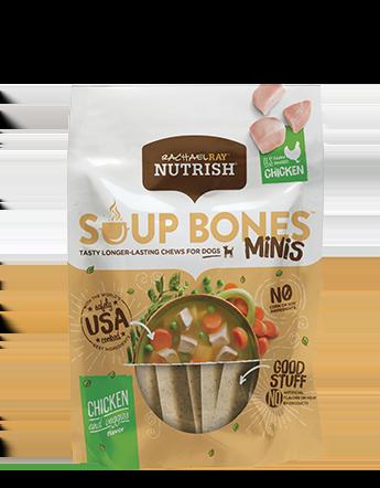 <p>Soup Bones™ Minis Real Chicken &amp; Veggies Flavor</p>