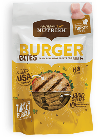 Turkey Burger Bites bag