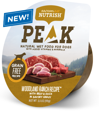 Woodland Ranch Recipe™ With Beef & Duck in Savory Gravy bag