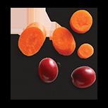 Cranberries & Carrots