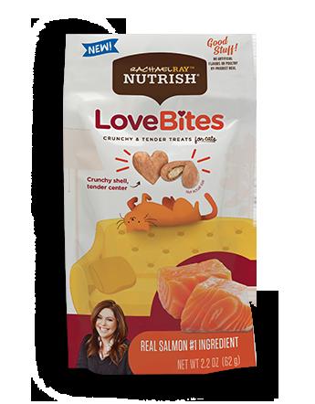 Love Bites Real Salmon Cat Treats