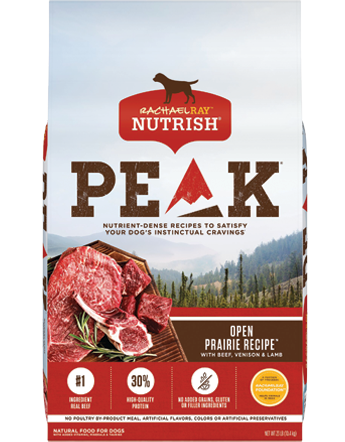 Open Prairie Recipe™ With Beef, Venison & Lamb  bag