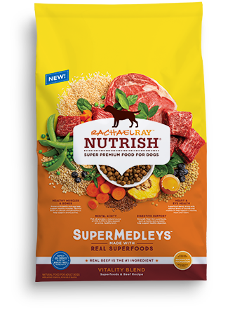<p>SuperMedleys™ Vitality Blend Superfoods &amp; Beef Recipe</p>  bag