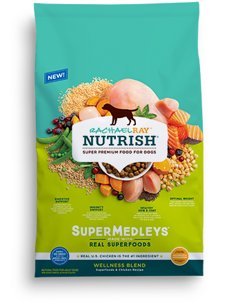 <p>SuperMedleys™ Wellness Blend Superfoods &amp; Chicken Recipe</p>  bag