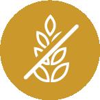 No corn, wheat, soy or gluten ingredients