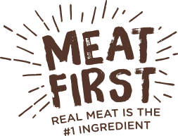 Real meat is the #1 ingredient.