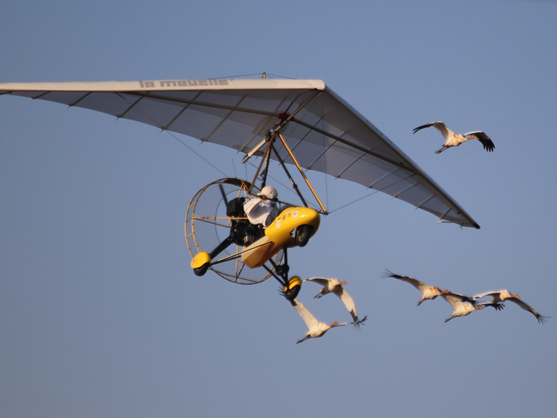 Six of the Class of 2014 flying with lead aircraft
