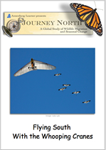 Whooping Crane Migration Journal Cover