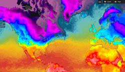 global air temperatures
