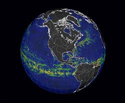 ocean currents/temperatures