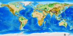 global topo map