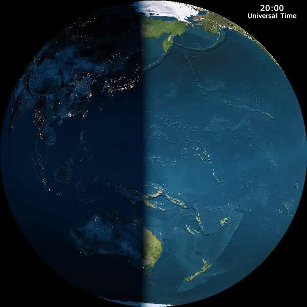 Earth's Day and Night Cycle