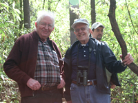 Dr. Lincoln Brower and President Jimmy Carter