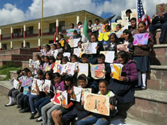 Symbolic Monarch Butterfly Migration: Classroom Images