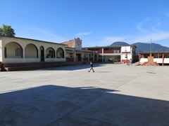 View of the school