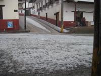 Hail in Angangueo