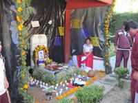 Dia de los Muertos in Angangueo, Michoacan, Mexico