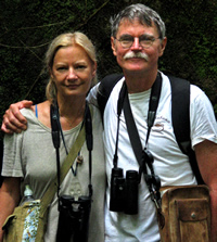 Bill Calvert and Bonnie Chase: Trip leaders to Mexico's monarch butterfly sanctuary region