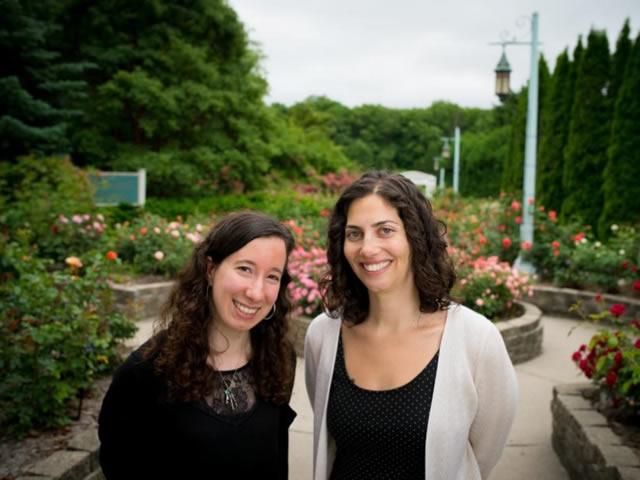 Elise Zipkin and Sarah Saunders