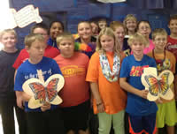 our class butterfly