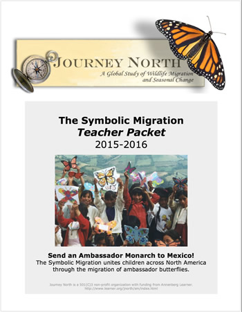 Journey North Symbolic Monarch Migration