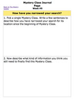 Worksheet | Photoperiod: describe how you have narrowed your search.
