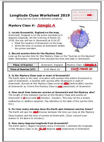 Mystery Class News